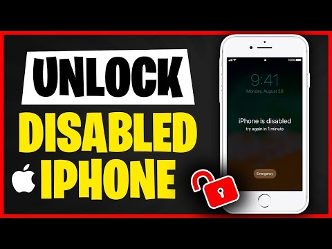 How to Unlock A disabled iPhone 5s   Factory Reset iPhone without Passcode