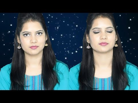 Summer Special Sweat-proof Light And Long Lasting Makeup Tutorial In Hindi ||TipsToTop By Shalini