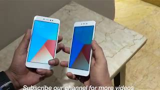 Xiaomi Redmi Y1 and Redmi Y1 Lite Hands On, Features, Selfie and Specifications