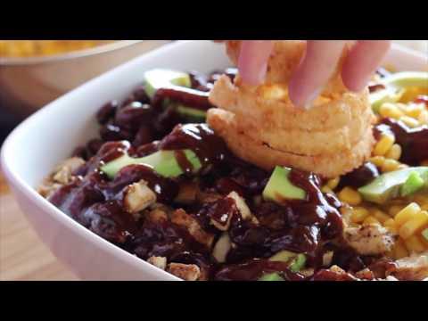 SAMSKITCHEN Barbecue ranch chicken salad