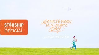 [Preview] 정세운(JEONG SEWOON) MINI ALBUM [DAY]
