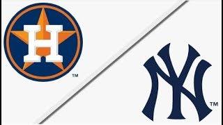 Houston Astros vs New York Yankees   ALCS Game 3 Full Game Highlights