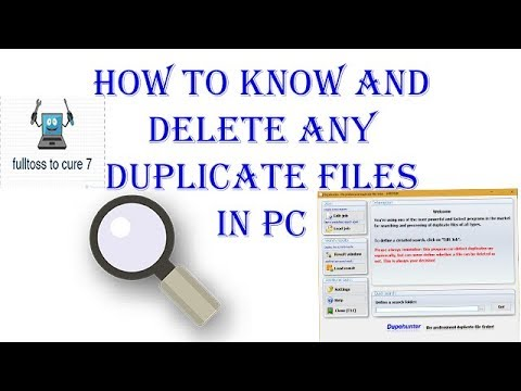 How to find and  delete any duplicate files in pc