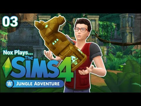 Nox Plays... The Sims 4: Jungle Adventure | Rags to Riches Challenge | Ep. 3: Secrets of the Omiscan