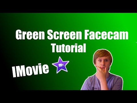 Green Screen Face cam Tutorial|| IMovie Tutorial ||