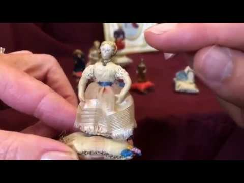 Tiny Treasures - Some of the smallest (and most wonderful) cloth dolls you'll ever see!