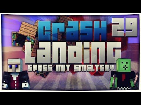 Minecraft CRASH LANDING #29 | SPAß MIT DER SMELTERY XD | Vicevice