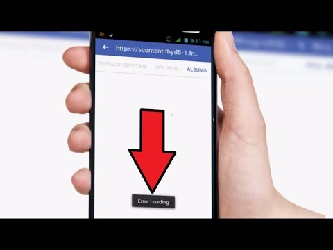 How to Fix Error Loading of Facebook in Android Phone