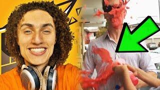 YouTuber ATTACKED in PUBLIC! KwebbelKop, WolfieRaps, NFKRZ vs LispyJimmy, YouTuber BOMB THREAT