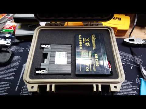 Pelican 1200 Case Pontoon/Kayak Battery Box DIY