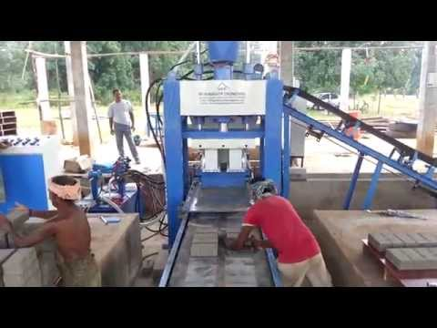 Fly Ash Brick Making Machines Coimbatore