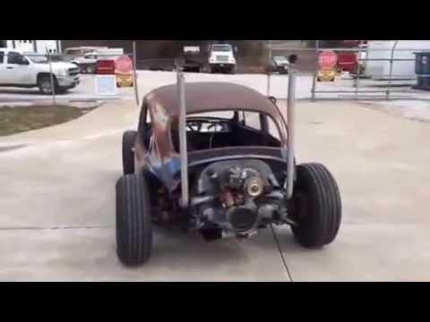 VW Rat Rod Killer Exhaust!