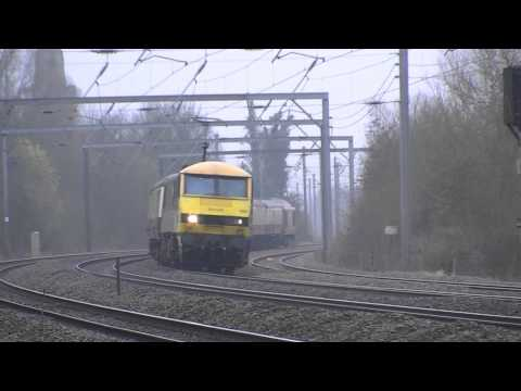 90036 and 67016 'The Holy Island of Lindisfarne or Berwick upon Tweed' 17.03.2012