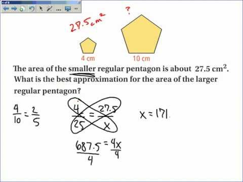 10-4 Areas and Perimeters of Similar Figures.wmv