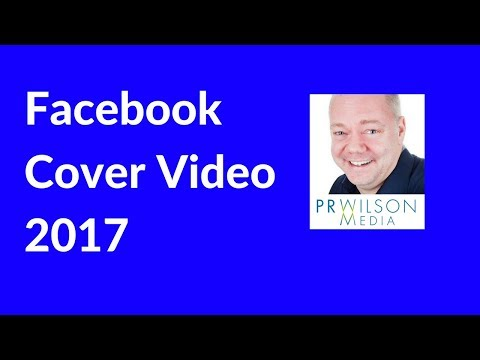 How to publish a Facebook cover video 2017