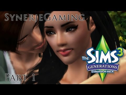 Let's Play: Sims 3 Generations. Part 1. Meet Cassandra & Jason.