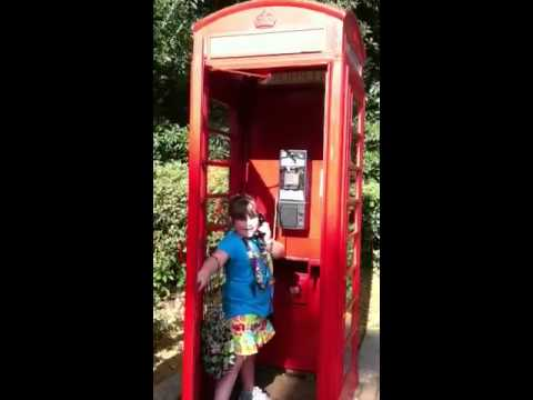 Call at UK phone booths in Epcot