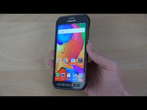 Samsung Galaxy S5 Active Official Android 5.0 Lollipop - Review (4K)
