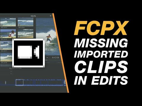 Final Cut Pro X Tutorial: Fixing Missing Clips on the Timeline - Import Issue