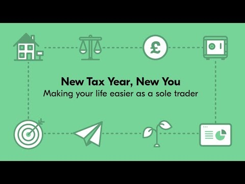New Tax Year, New You - Webinar for sole traders
