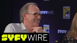 The 5th and 6th Doctor Who (and Ace) Talk New Female Doctor | San Diego Comic-Con 2017 | SYFY WIRE