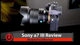 Sony a7 III Full Frame Camera Review - It
