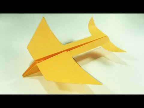 How to Make a Paper Airplane That Fly Far (Style 03)