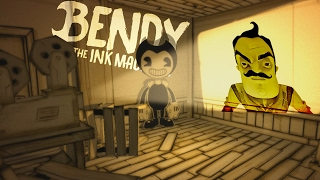 Bendy - The Next Hello Neighbor? - Bendy and the Ink Machine Gameplay - Chapter 1