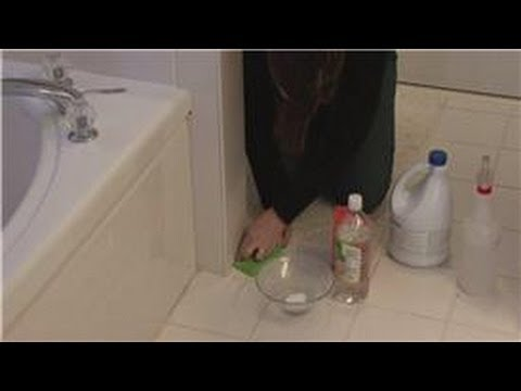 House Cleaning & Stain Removal : Removing Mold on Bathroom Caulk