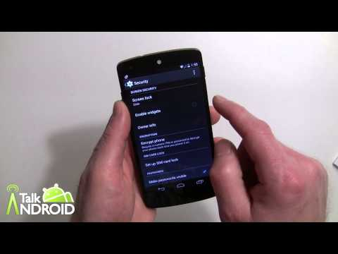 How to enable Lock Screen Widgets in Android 4.4 KitKat