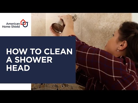 Plumbing Repair & Maintenance - How To Clean A Shower Head