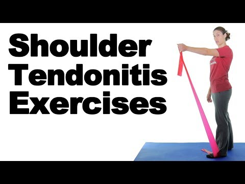 Shoulder Tendonitis Exercises for Pain Relief - Ask Doctor Jo