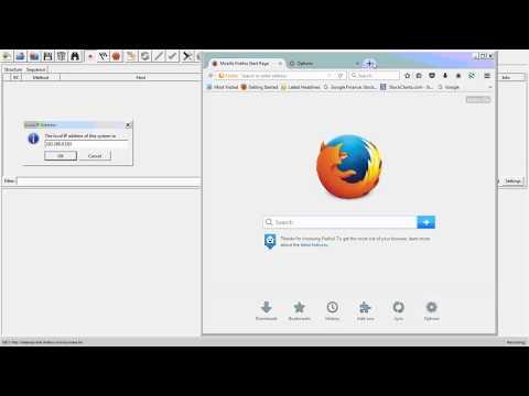 How to use Charles proxy for FireFox in Windows