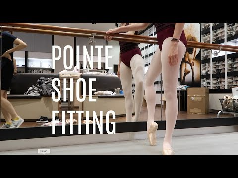 POINTE SHOE FITTING | 6/26/17