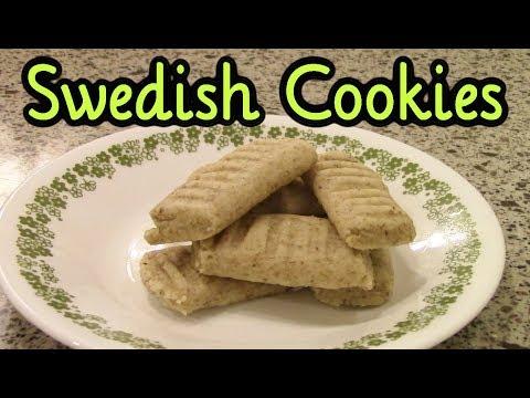 Swedish Rye Cookies (Cookie Week)