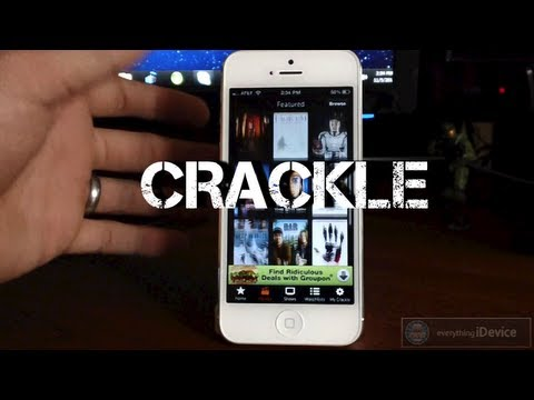 Watch Free Movies & TV Shows With Crackle For iPhone, iPod Touch, iPad & iPad Mini