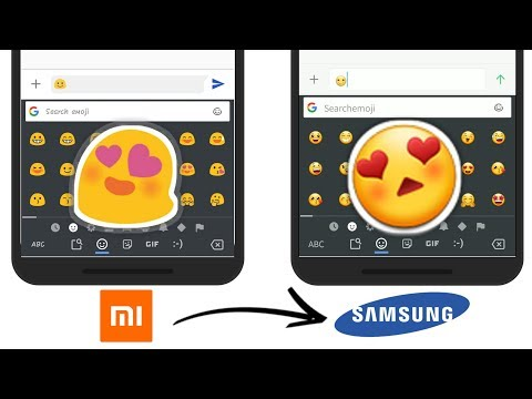 How to Get Samsung Emoji on any Xiaomi Phone! EXPERIENCE SAMSUNG 9.0 NEW EMOJI 2018 (No Root)