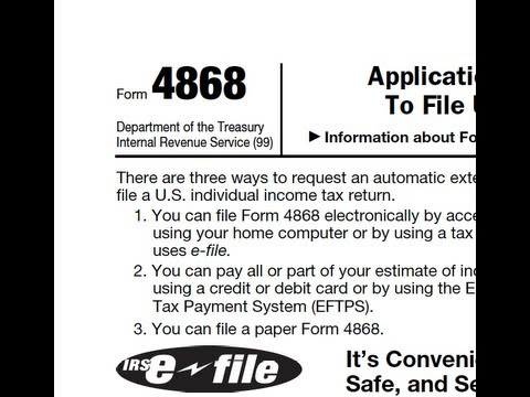 How to Extend the U.S. Individual Income Tax Return