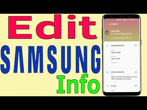 Samsung Account : How To Manage Your Samsung Account Profile Info - Helping Mind