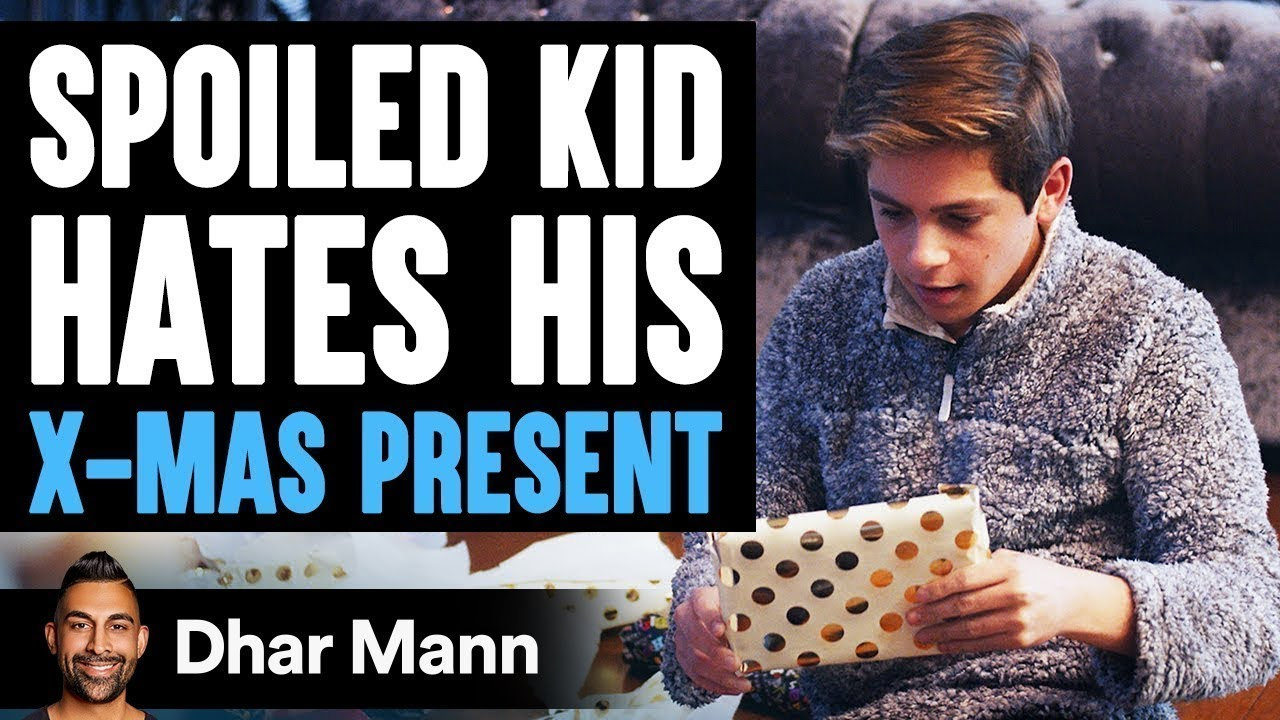 Spoiled Kid Hates His Present Until He Learns Shocking Truth   Dhar Mann