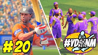 #YDMNM GAME 20 - SUNRISERS HYDERABAD v KOLKATA KNIGHT RIDERS 20 OVER MATCH