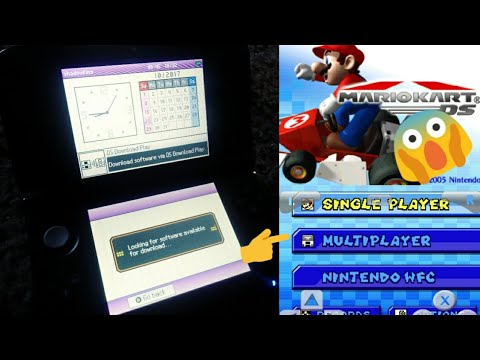 Connecting a DS emulator with a real DS