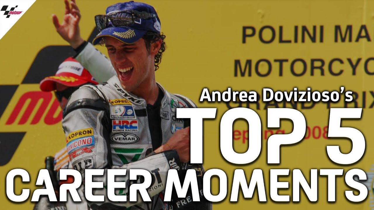Andrea Dovizioso's Top 5 Career Moments   #GrazieDovi