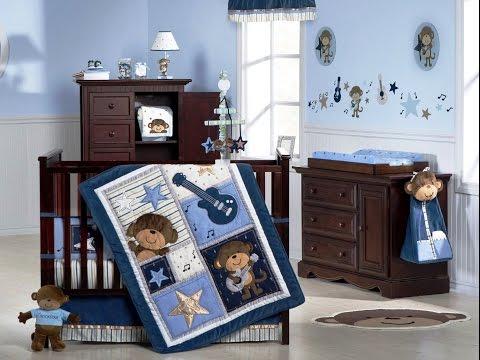 Wonderful Baby Boy Nursery Color Schemes