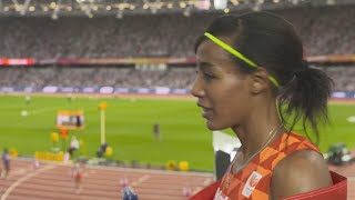 WCH 2017 London– Sifan Hassan NED 5000 Metres Bronze