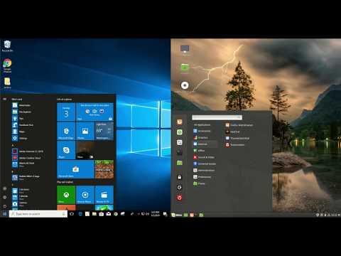 Linux Mint 19 vs Windows 10