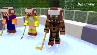 Fnaf Vs Mobs: Ice Hockey - Monster School (minecraft Animation)