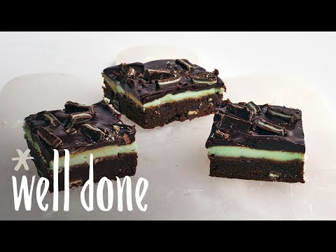 How To Make Andes Mint Brownies | Recipe | Well Done