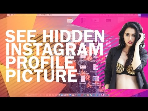 See Hidden Instagram Profile Picture-How to view Private Instagram profiles /photos/dp/picture