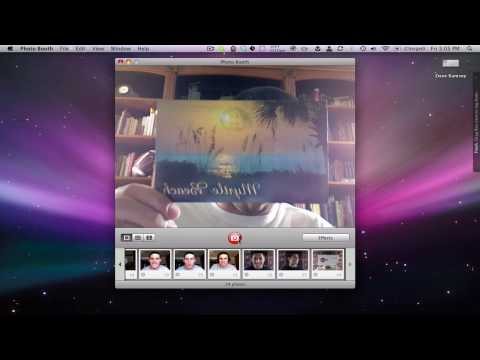 Mac Photo Booth Image Flip Screencast